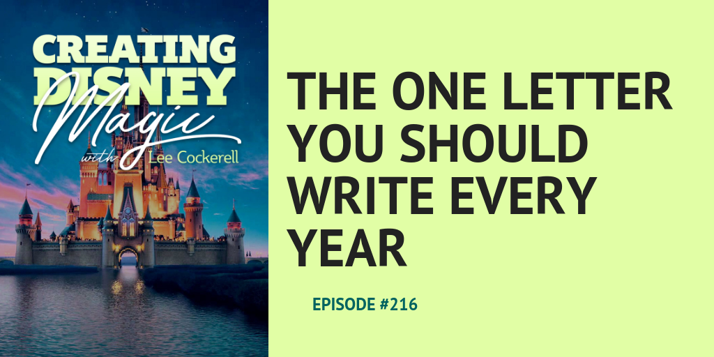 one letter to write every year