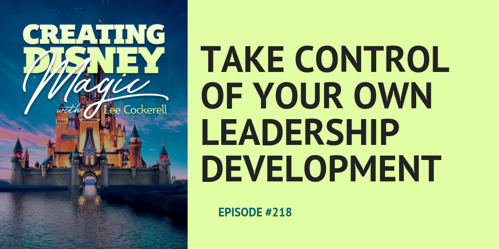 take control of your own leadership development