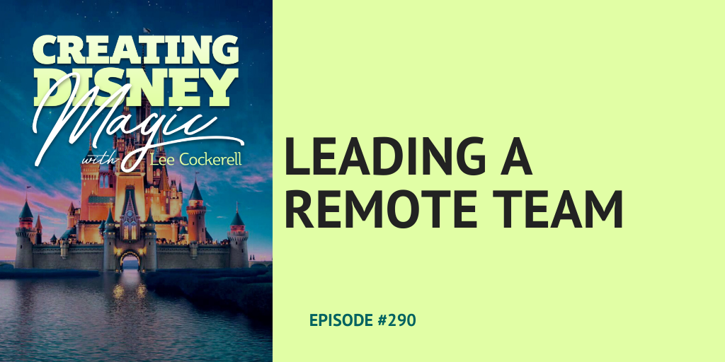 Leading a remote team