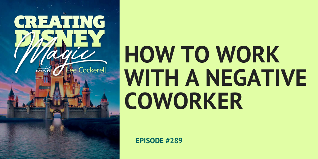 how to work with a negative coworker