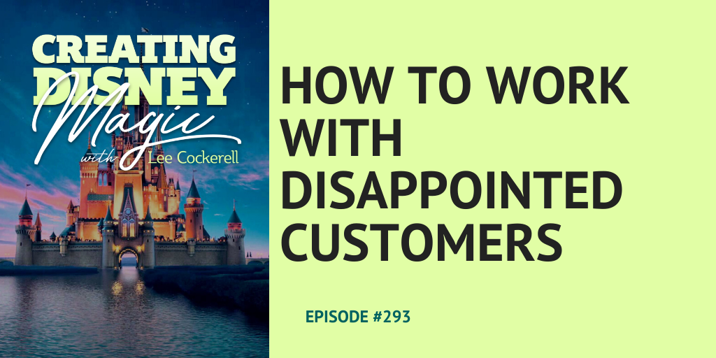 How to work with disappointed customers