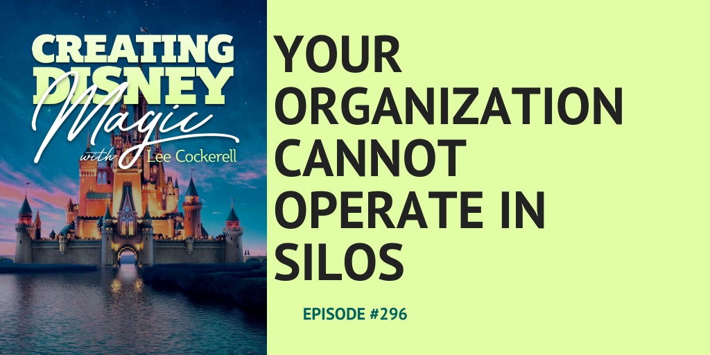 Your organization cannot operate in silos