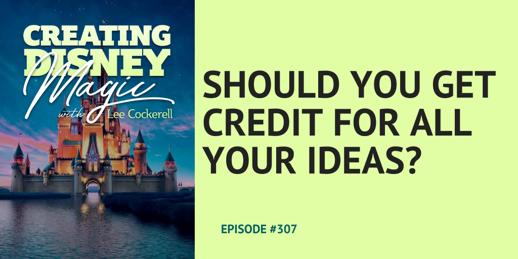 should you get credit for all your ideas
