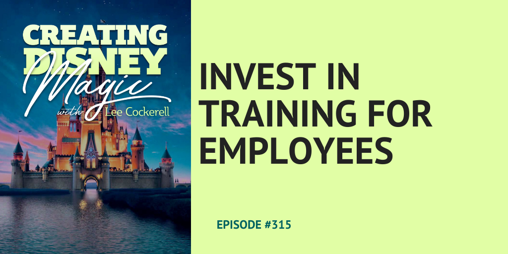 invest in training for employees